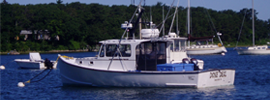 The Done Deal Charter Fishing Boat