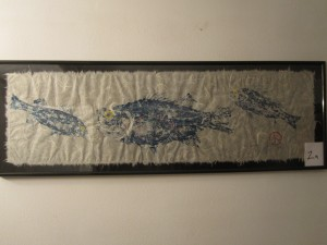 Gyotaku Fish Print